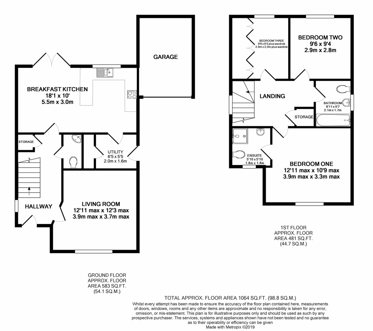 Ansell Way, Harborne floorplan 1 of 1