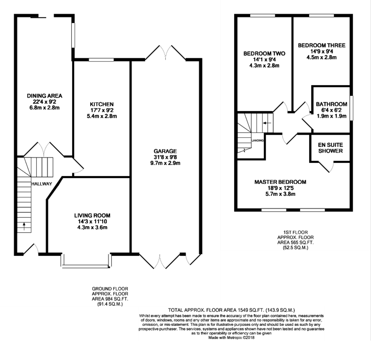 Norton Lane, Earlswood, Solihull floorplan 1 of 1