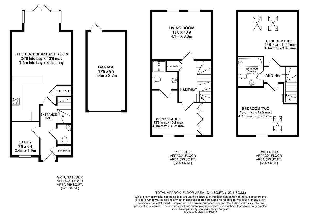 Perrott Way, Birmingham floorplan 1 of 1