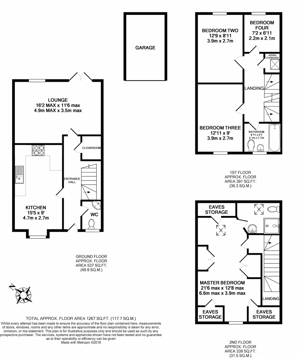Charlotte Road, Edgbaston floorplan 1 of 1