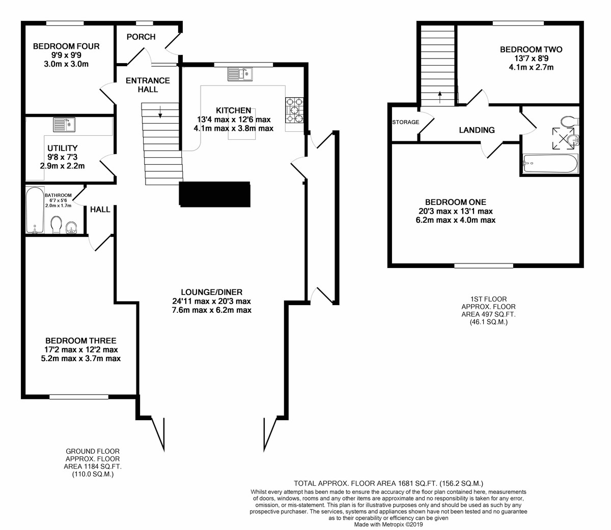 Gillhurst Road, Harborne floorplan 1 of 1