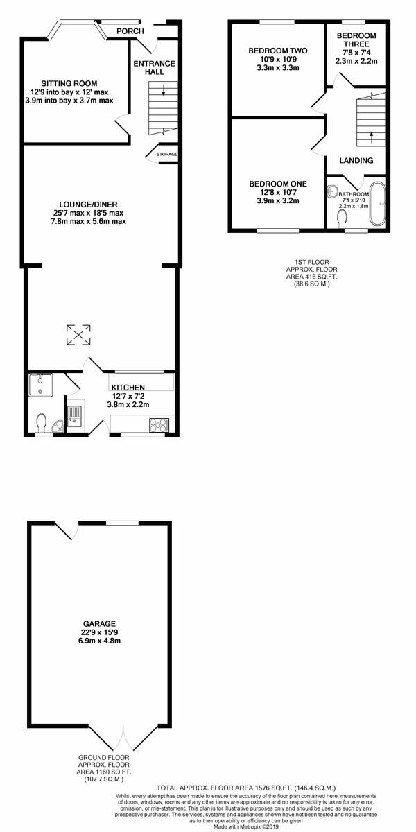 Willow Avenue, Birmingham floorplan 1 of 1