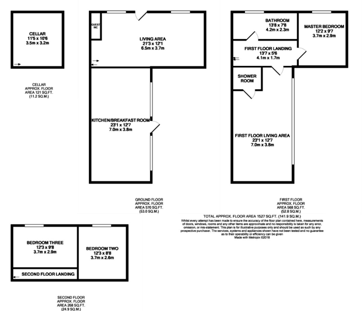 Mary Street, Birmingham floorplan 1 of 1