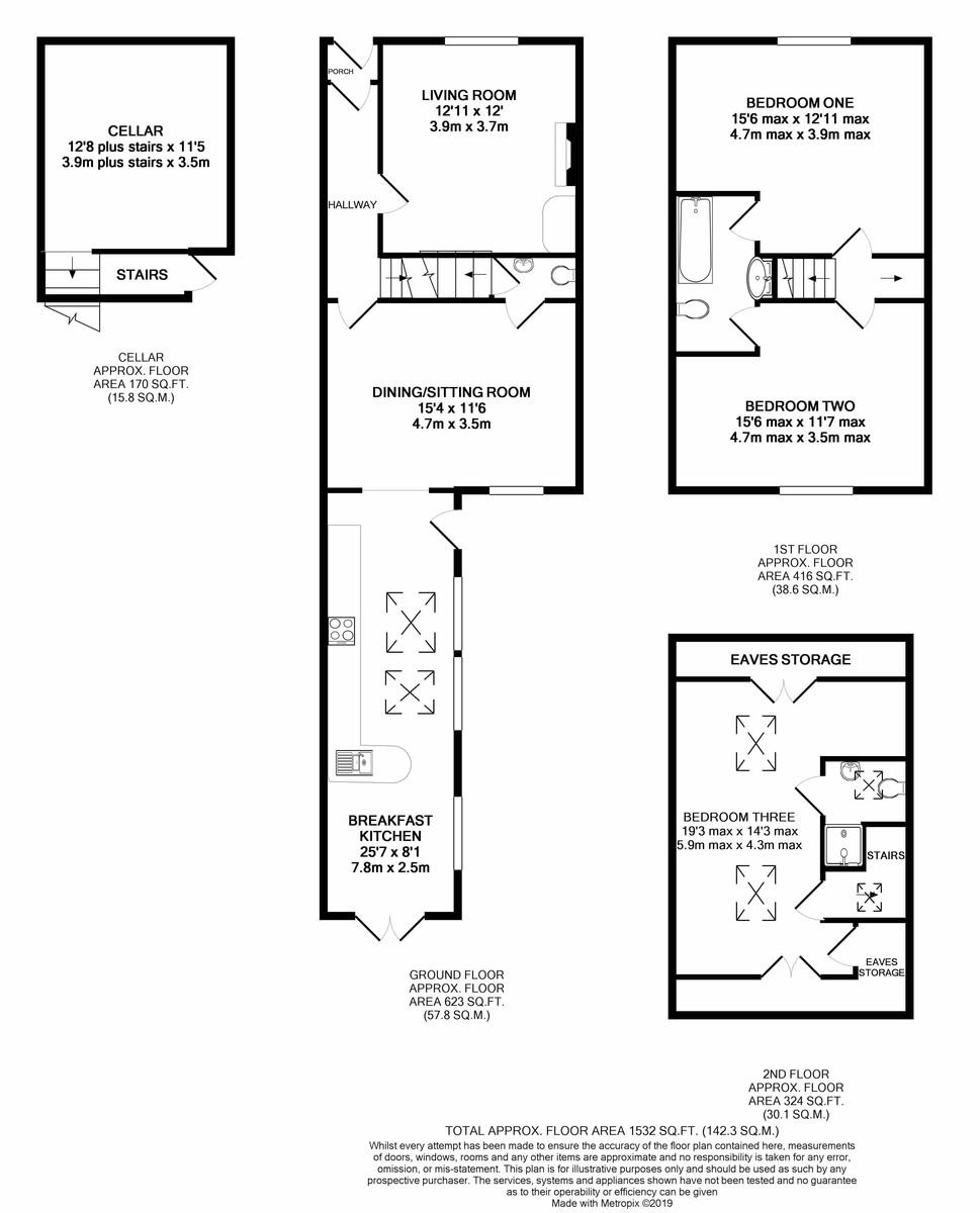 York Street, Harborne floorplan 1 of 1
