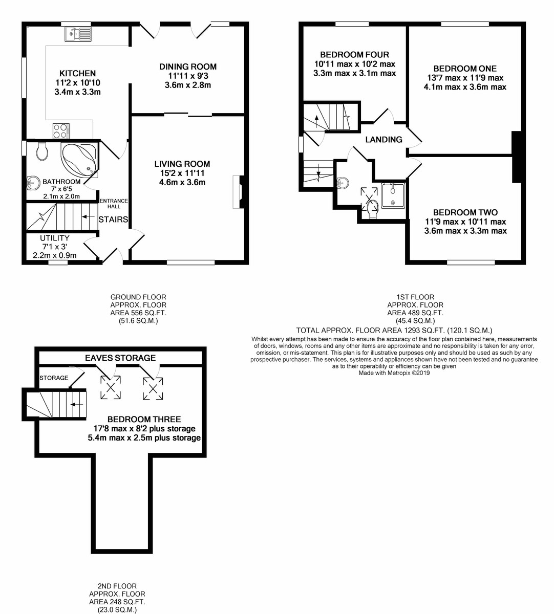 Carless Avenue, Harborne floorplan 1 of 1