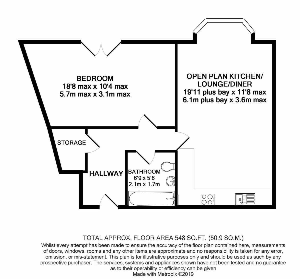 Kings Oak, High Street floorplan 1 of 1