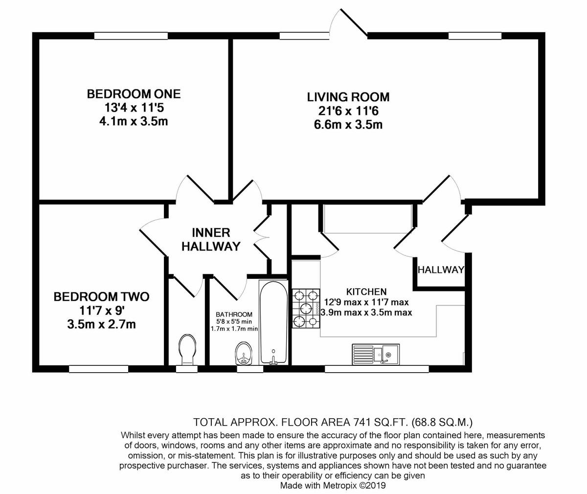 Wilsford Green 8 Oak Hill Drive floorplan 1 of 1