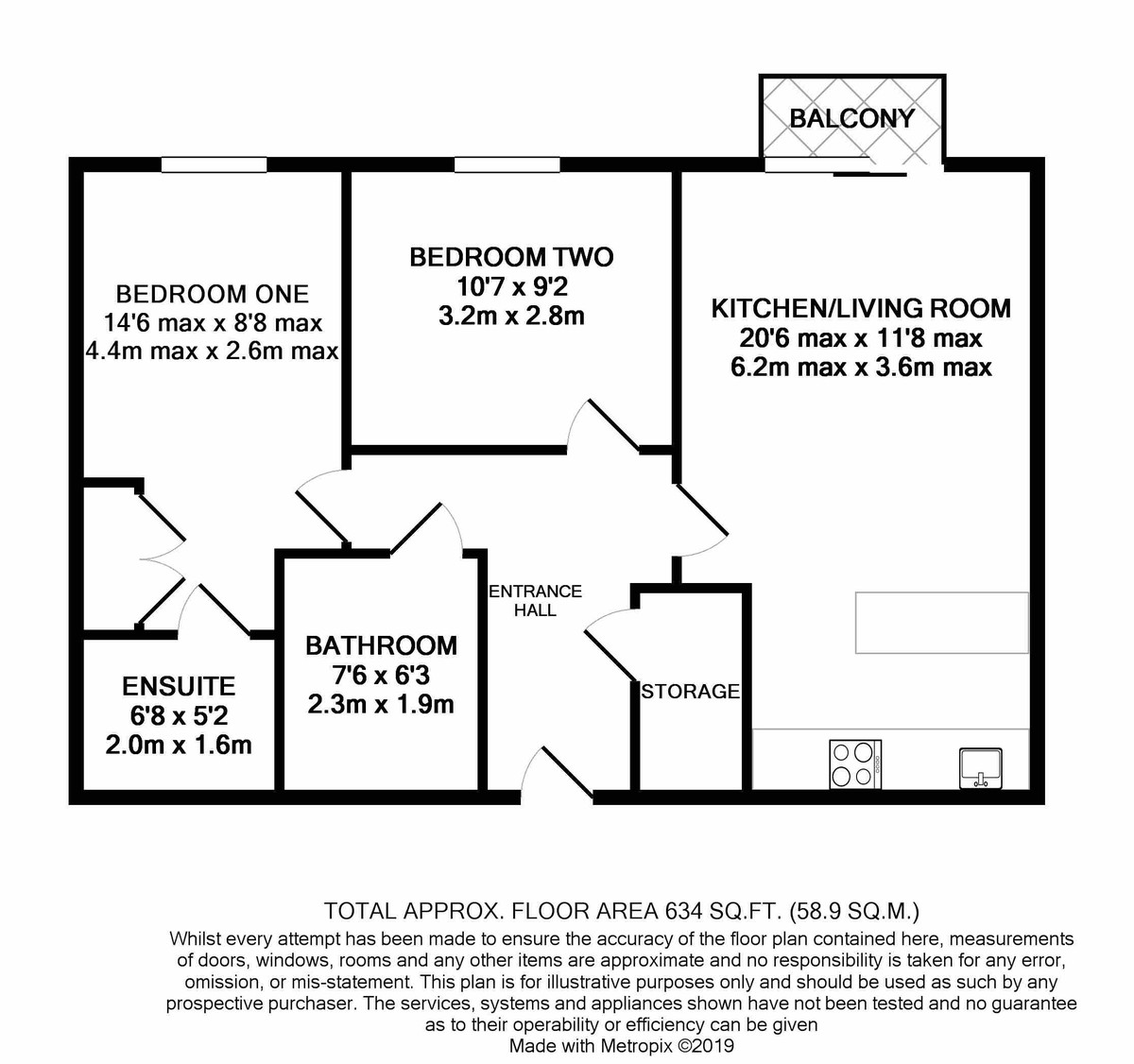Hemisphere 18 Edgbaston Crescent floorplan 1 of 1