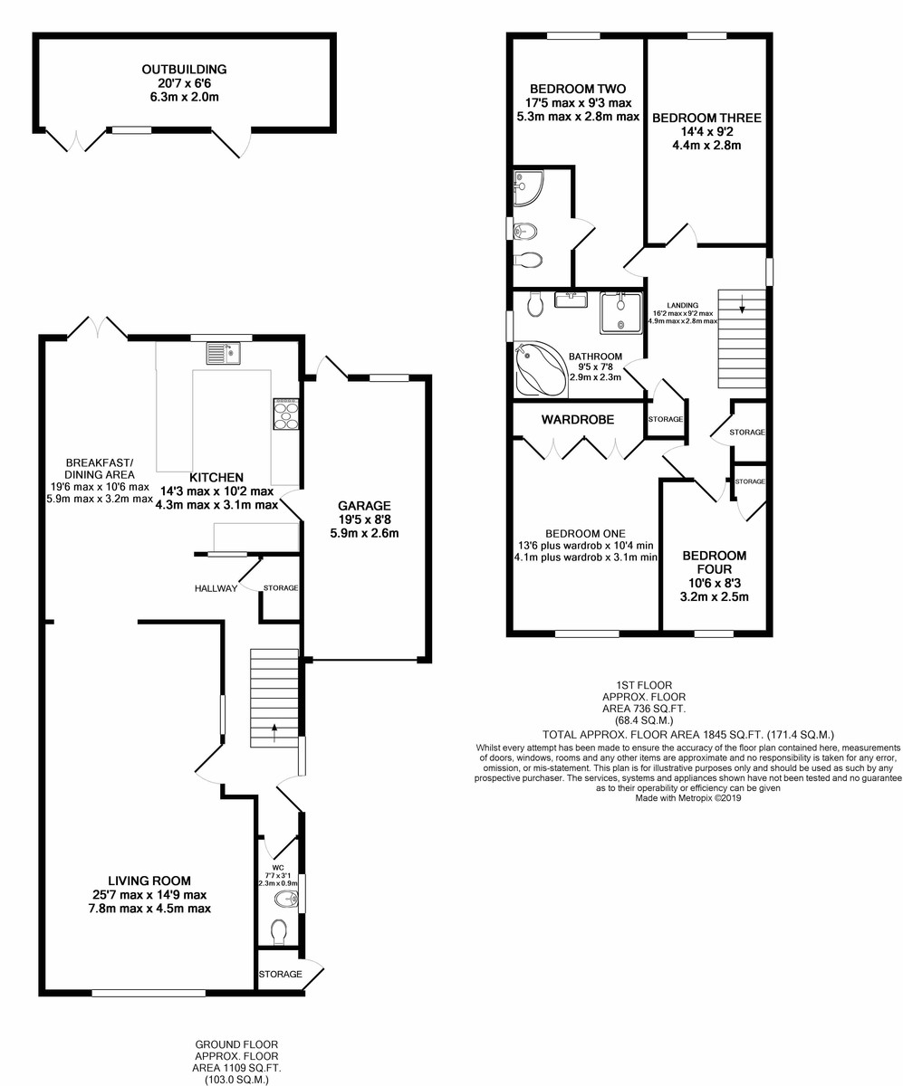 Bishbury Close, Edgbaston floorplan 1 of 1