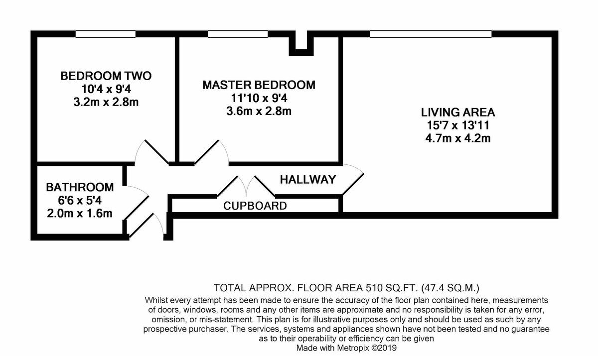 Brindley House, 101 Newhall Street floorplan 1 of 1
