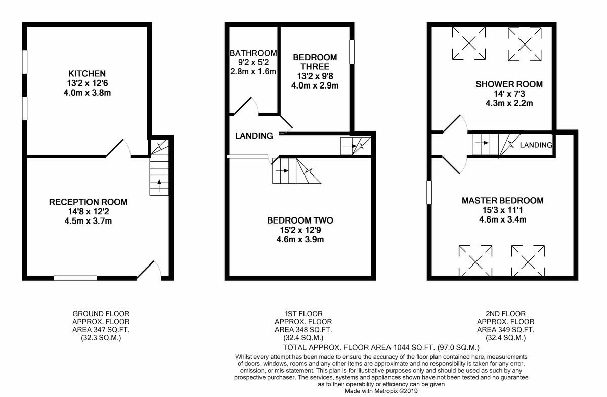 Camden Street Birmingham floorplan 1 of 1