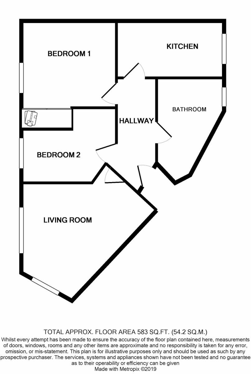 Montana House, 22 The Moorings floorplan 1 of 1