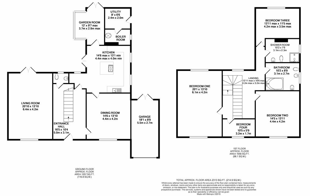 Fitz Roy Avenue, Harborne floorplan 1 of 1