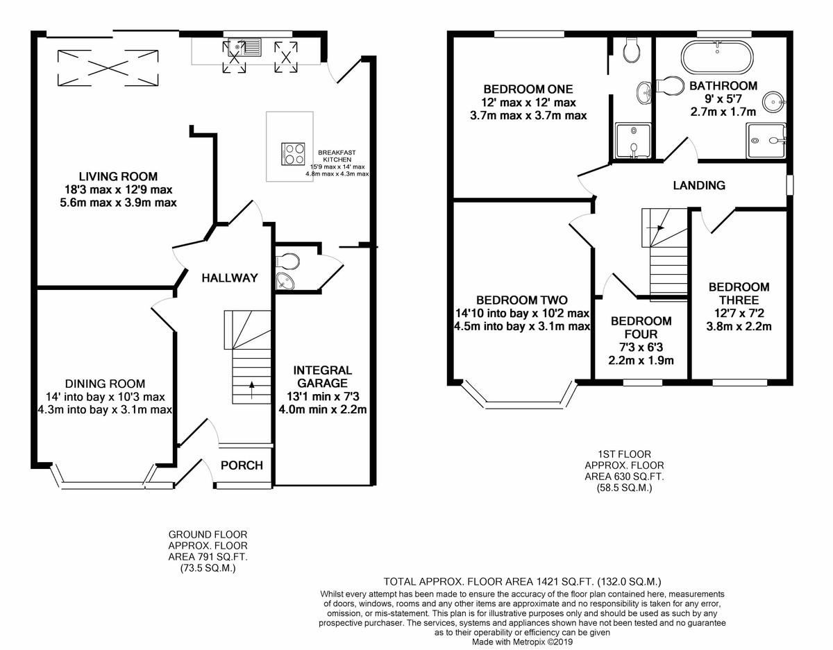 Wheats Avenue, Harborne floorplan 1 of 1