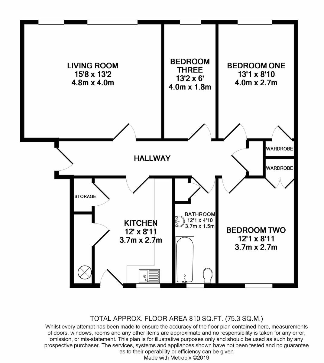 Cropthorne Court Calthorpe Road floorplan 1 of 1