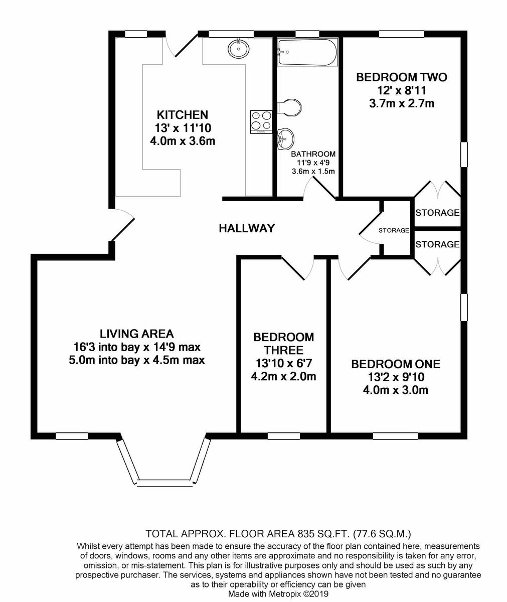 Crpthorne Court Calthorpe Road floorplan 1 of 1