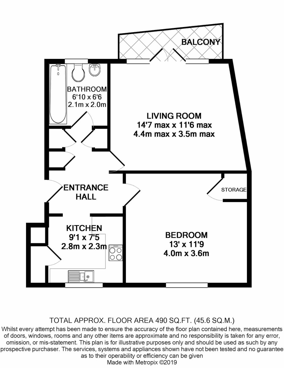 St Lawrence house Melville Road floorplan 1 of 1