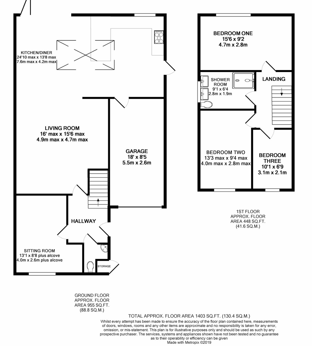 Balcaskie Close, Edgbaston floorplan 1 of 1