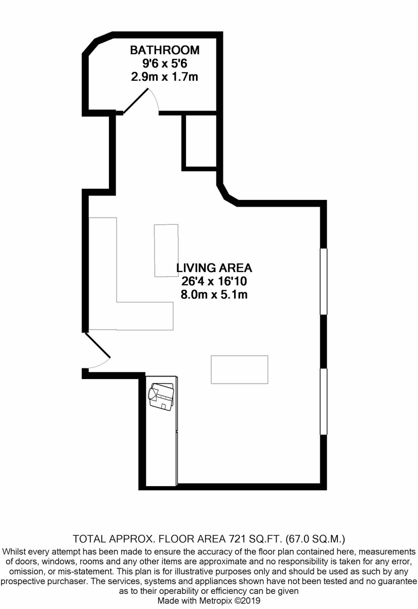 New Hampton Lofts, Great Hampton Street floorplan 1 of 1