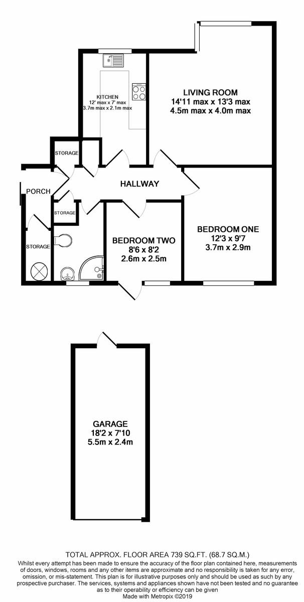 Fredas Grove, Harborne floorplan 1 of 1