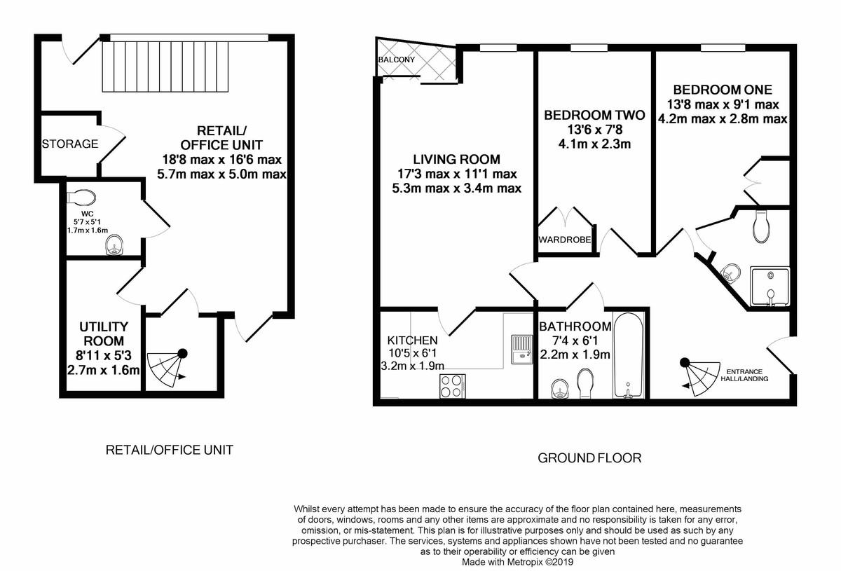 Qube 71 Edward Street floorplan 1 of 1