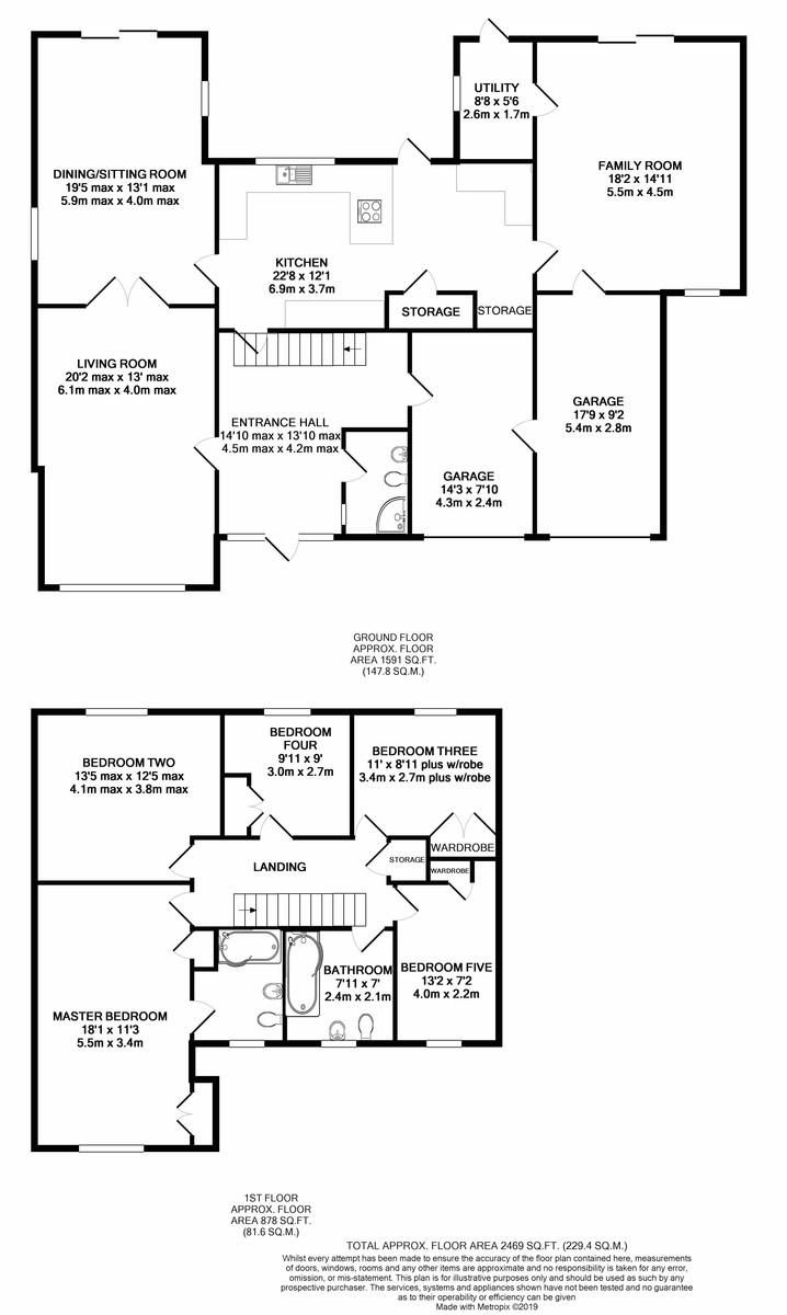 Astonbury, Edgbaston floorplan 1 of 1