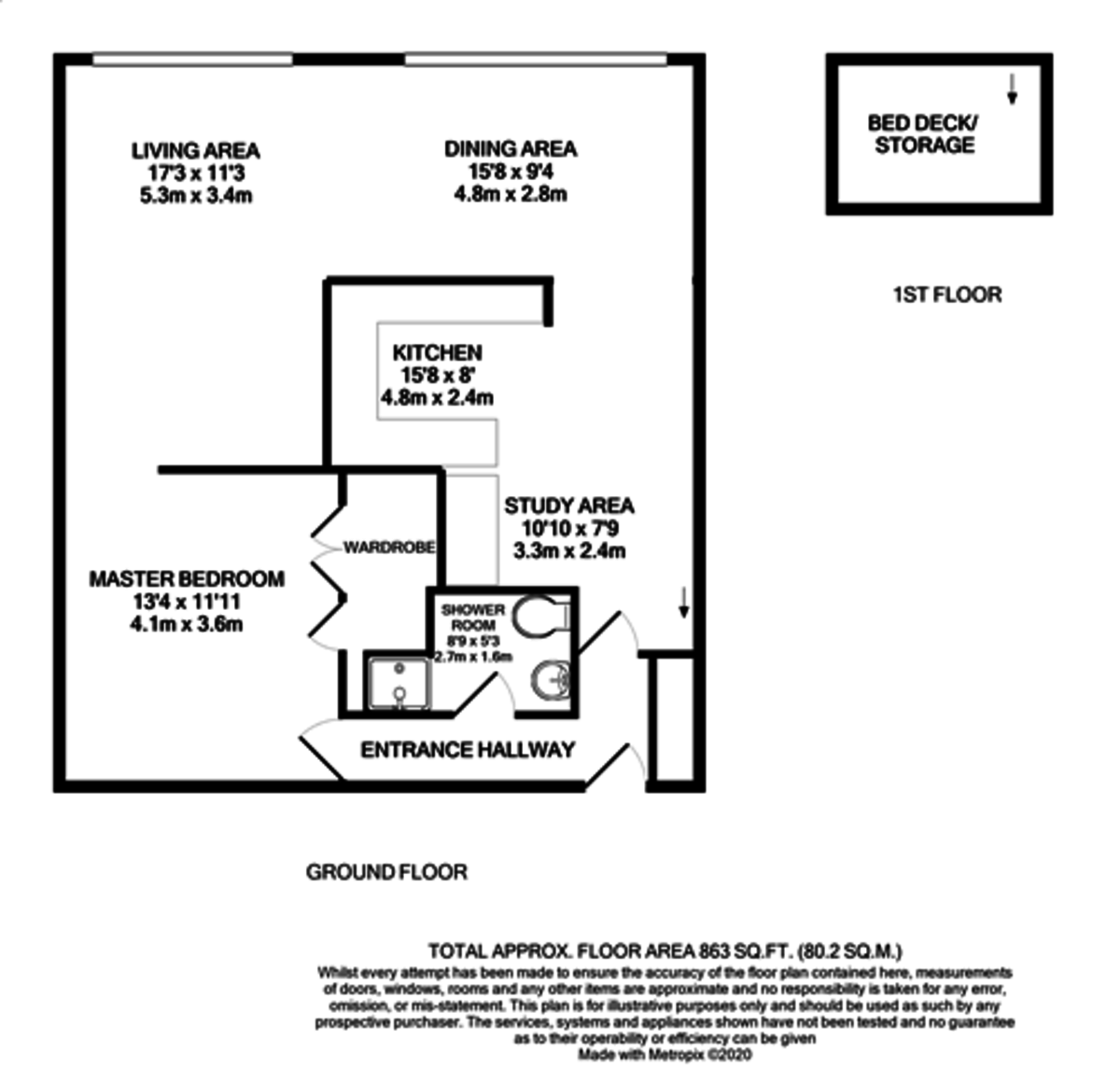 Ludgate Lofts, 17 Ludgate Hill, Birmingham City Centre floorplan 1 of 1