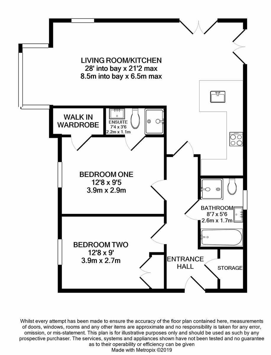 The Willows 110 Edgbaston Road floorplan 1 of 1