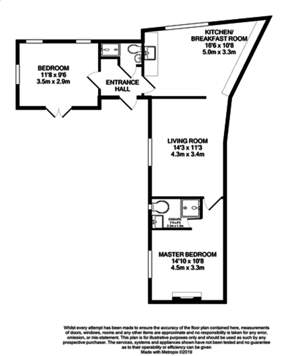 Kingston Row, Birmingham floorplan 1 of 1