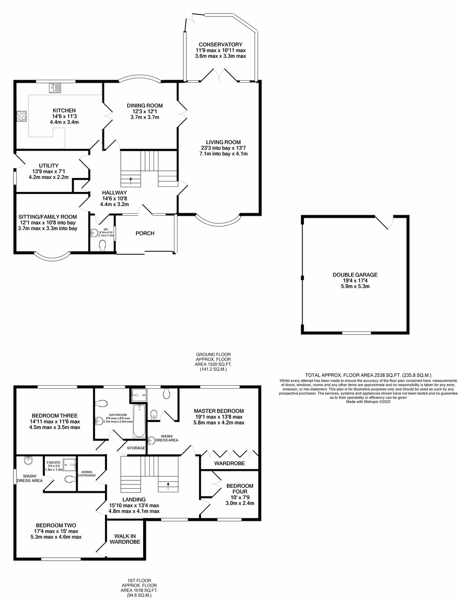 Broomhurst, Edgbaston floorplan 1 of 1