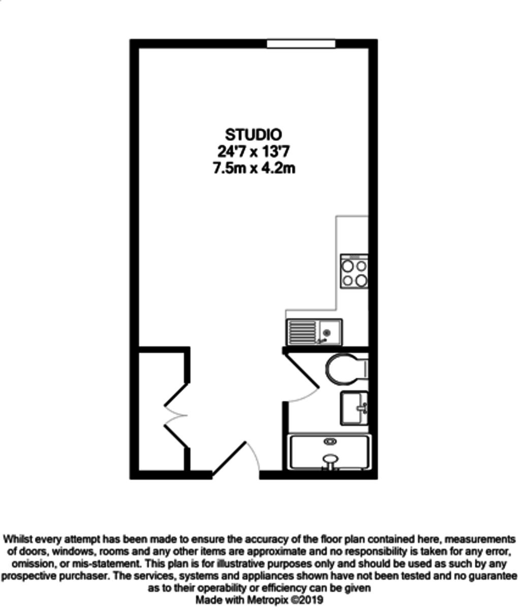 Sinope Apartments, 58 Sherborne Street, Birmingham City Centre floorplan 1 of 1