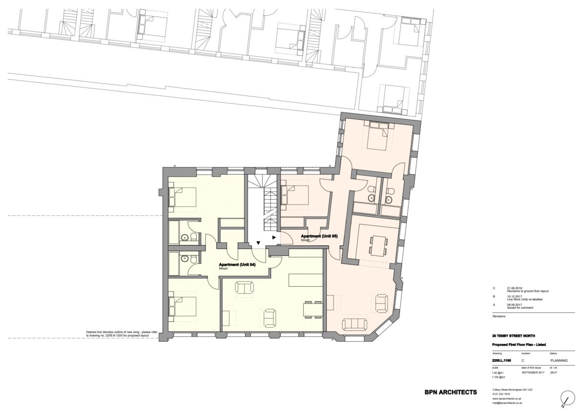 Sydenham Place Tenby Street North floorplan 1 of 3
