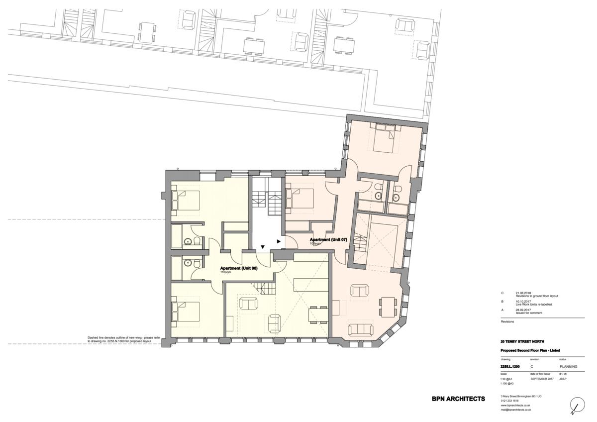 Sydenham Place Tenby Street North floorplan 2 of 3