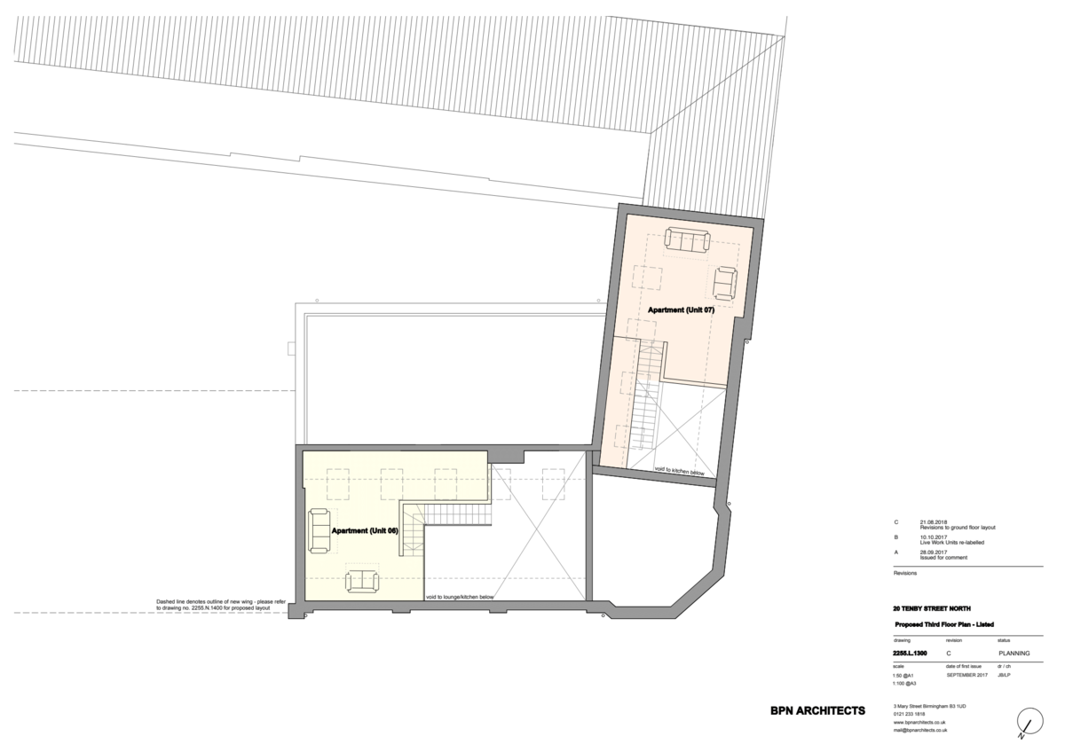 Sydenham Place Tenby Street North floorplan 3 of 3