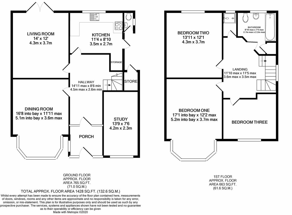 Knightlow Road, Harborne floorplan 1 of 1