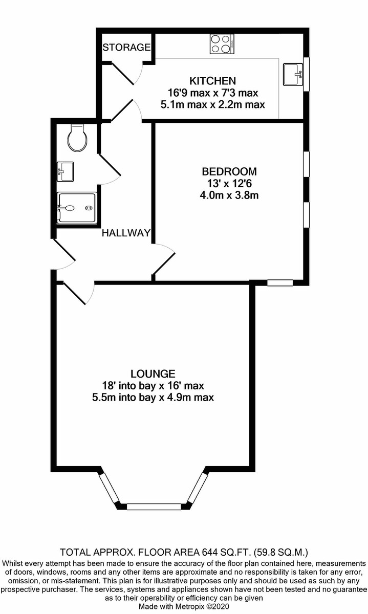 Rotton Park Road, Edgbaston floorplan 1 of 1