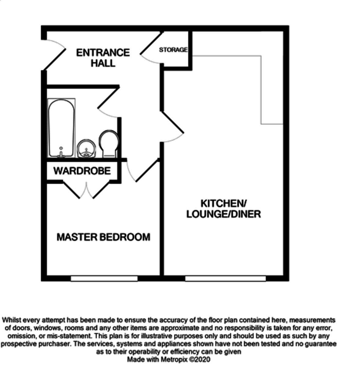 Octahedron, 50 George Street floorplan 1 of 1