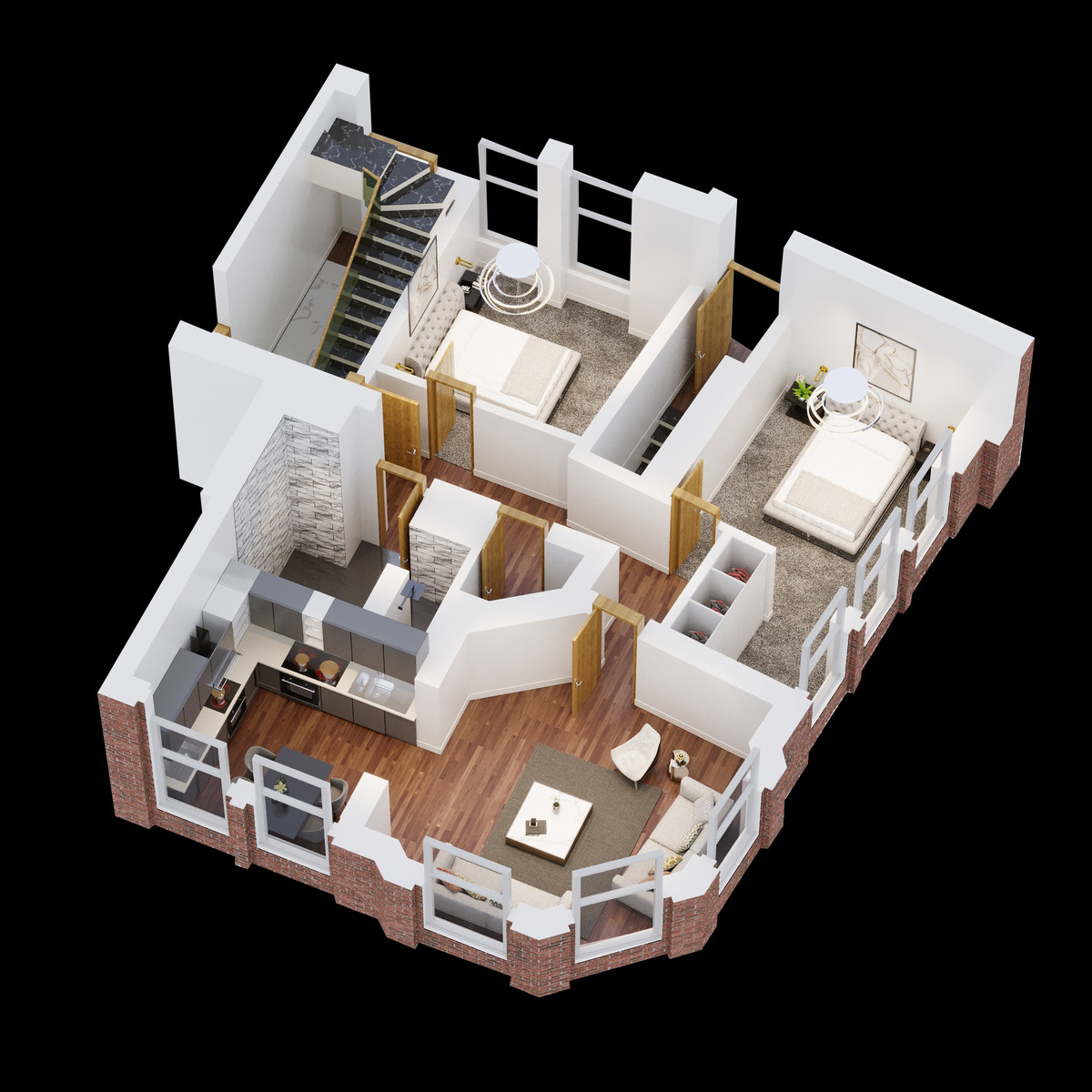 Sydenham Place, 26B Tenby Street, Jewellery Quarter floorplan 1 of 2