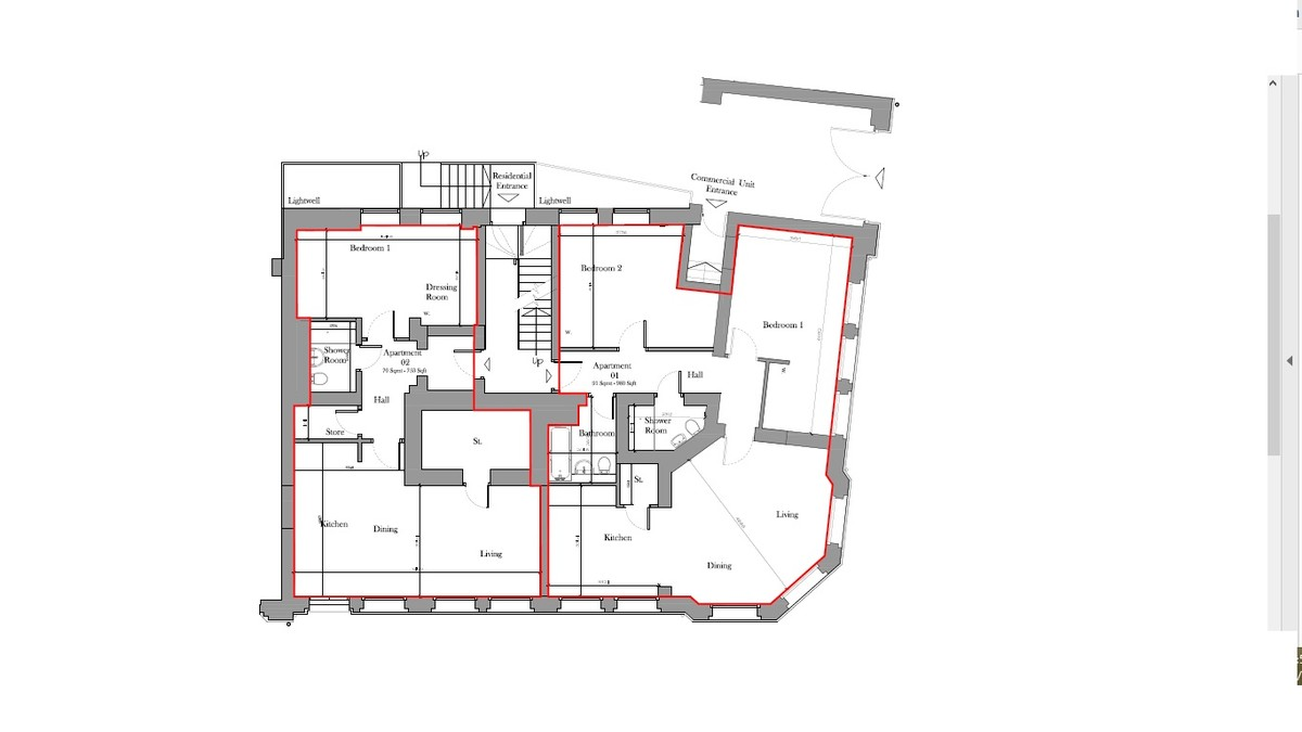 Sydenham Place, 26B Tenby Street, Jewellery Quarter floorplan 2 of 2