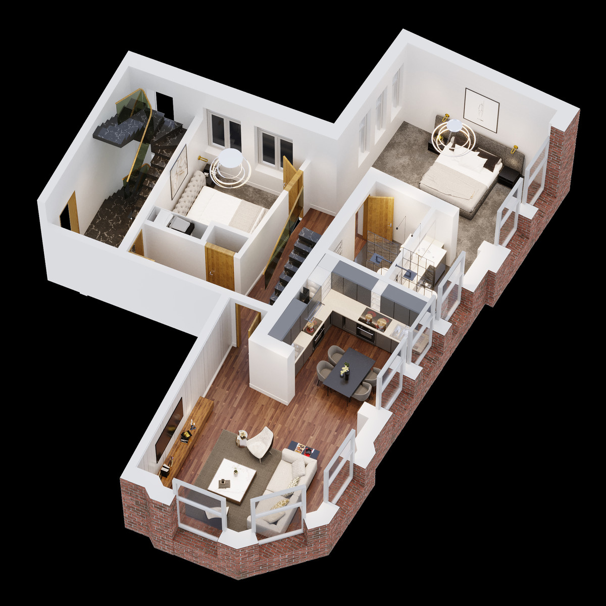 Sydenham Place, 26B Tenby Street, Jewellery Quarter floorplan 1 of 4