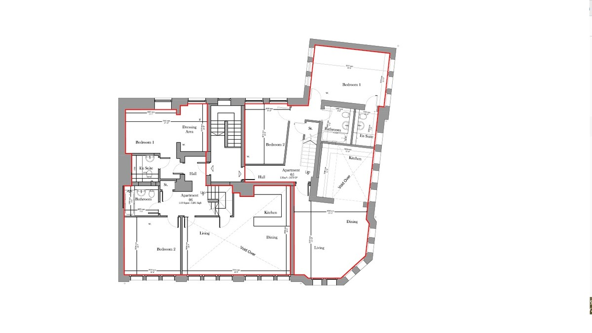 Sydenham Place, 26B Tenby Street, Jewellery Quarter floorplan 3 of 4