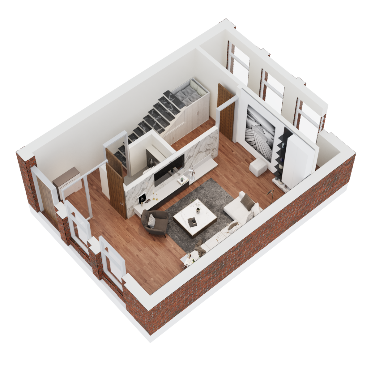 Sydenham Place, 26C Tenby Street, Jewellery Quarter floorplan 1 of 8