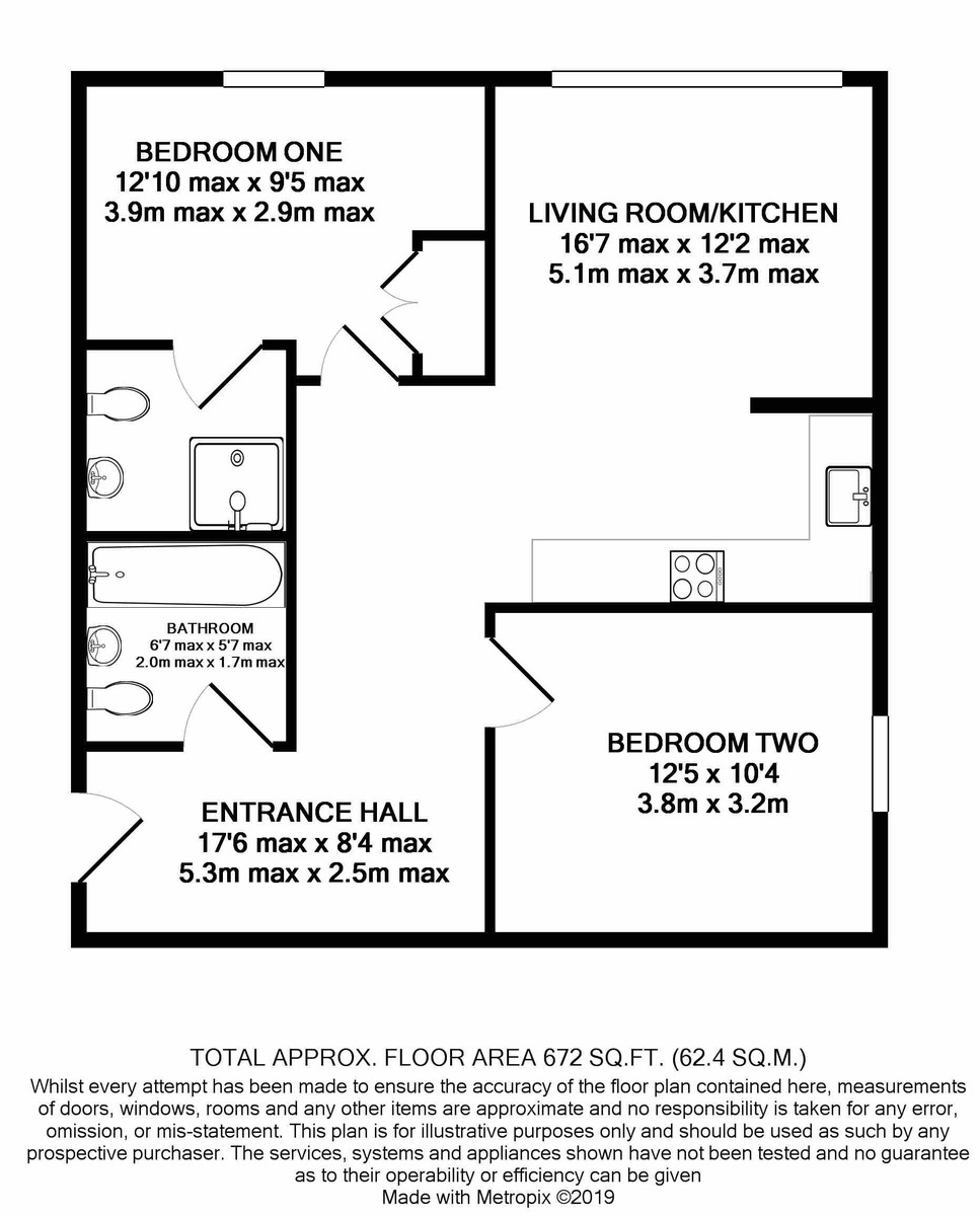 The Bank Tower, 60 Sheepcote Street, Birmingham City Centre floorplan 1 of 1
