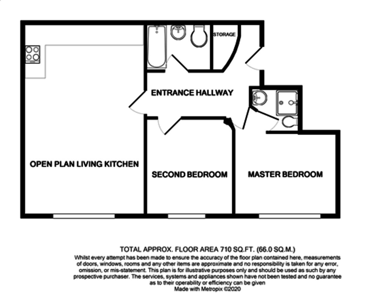 Maxim 28, 21 Lionel Street, Birmingham City Centre floorplan 1 of 1