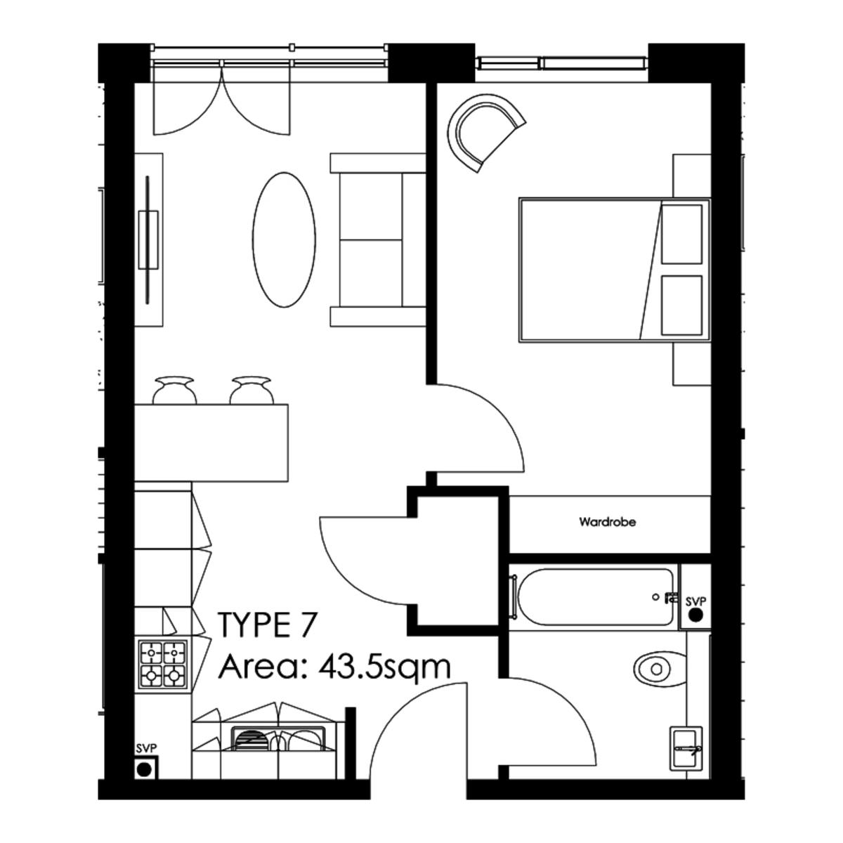 The Axium, Windmill Street, Birmingham City Centre floorplan 1 of 1