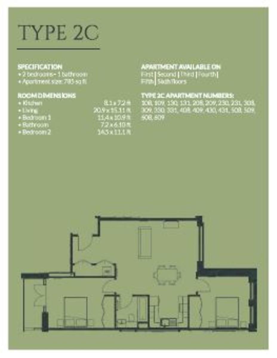 Arden Gate 19 William Street floorplan 1 of 1
