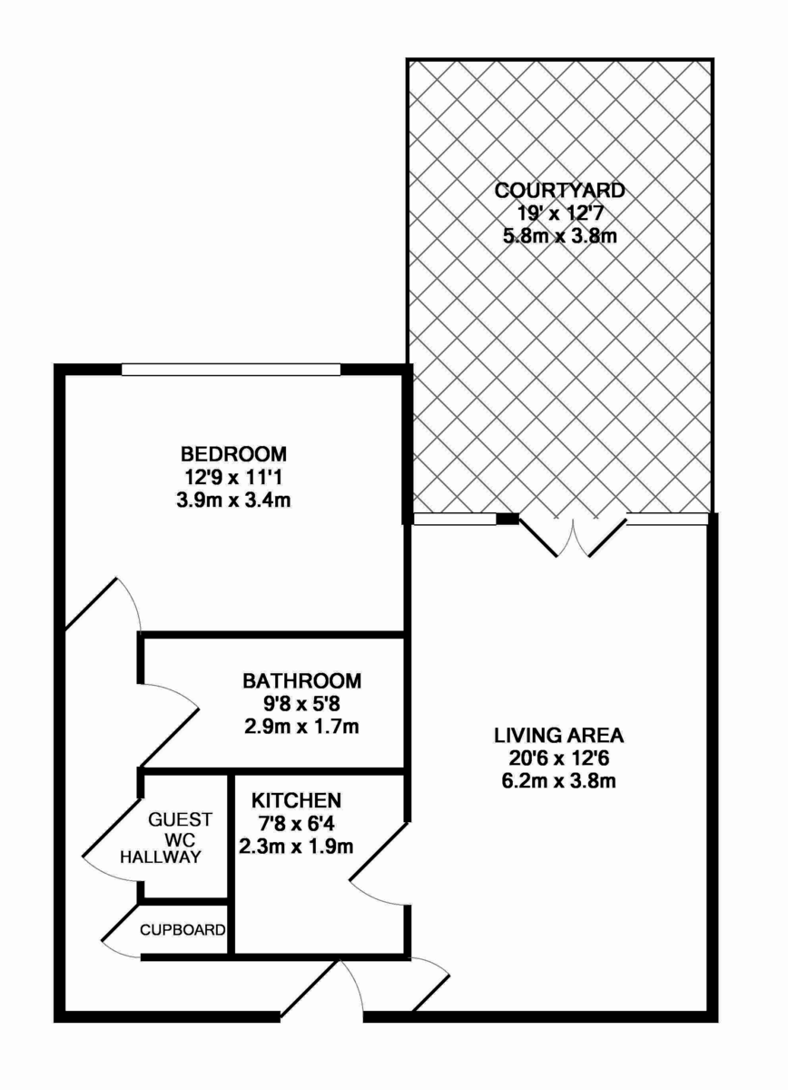 Ludgate Lofts, 17 Ludgate Hill, St. Pauls Square floorplan 1 of 1