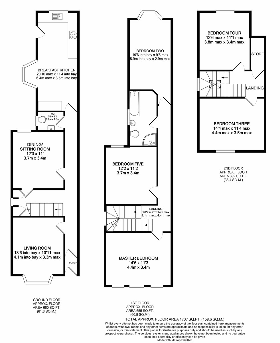 Station Road, Harborne floorplan 1 of 1