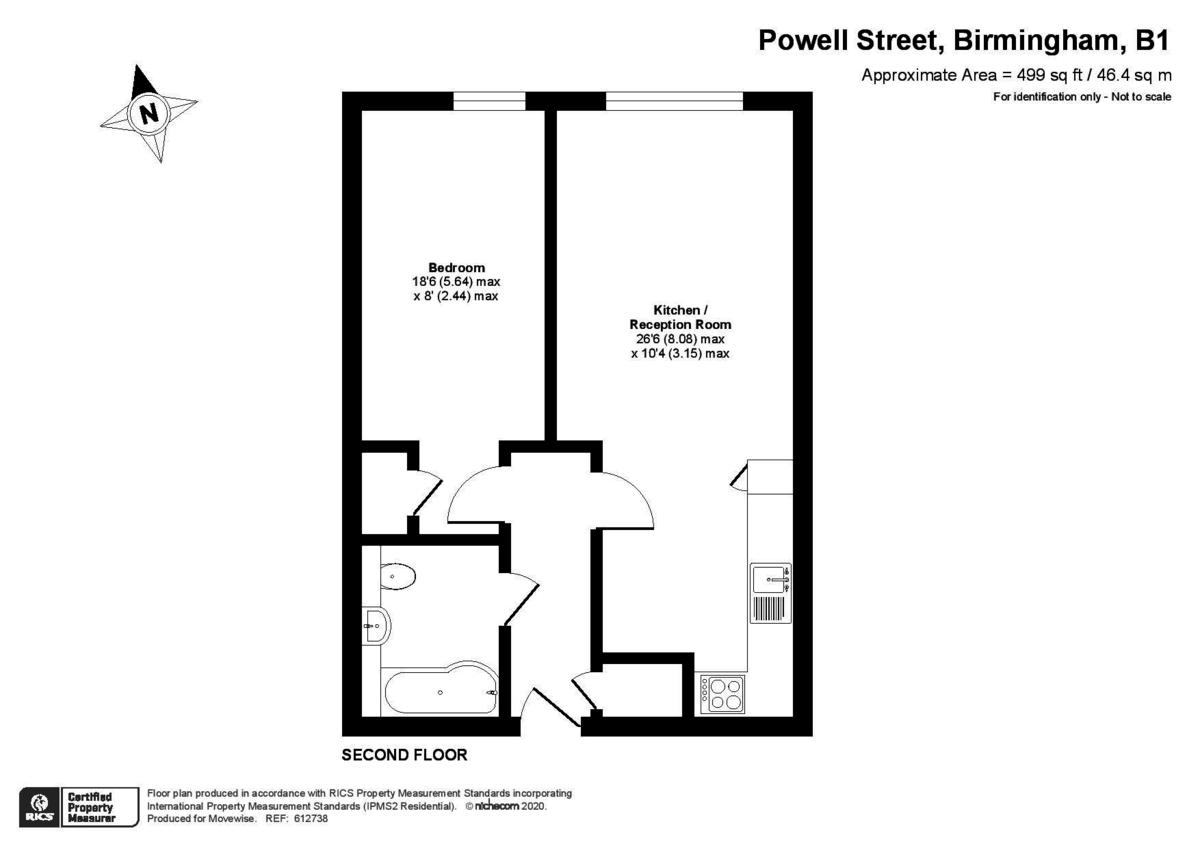 Altitude, 39 Powell Street, Jewellery Quarter floorplan 1 of 1