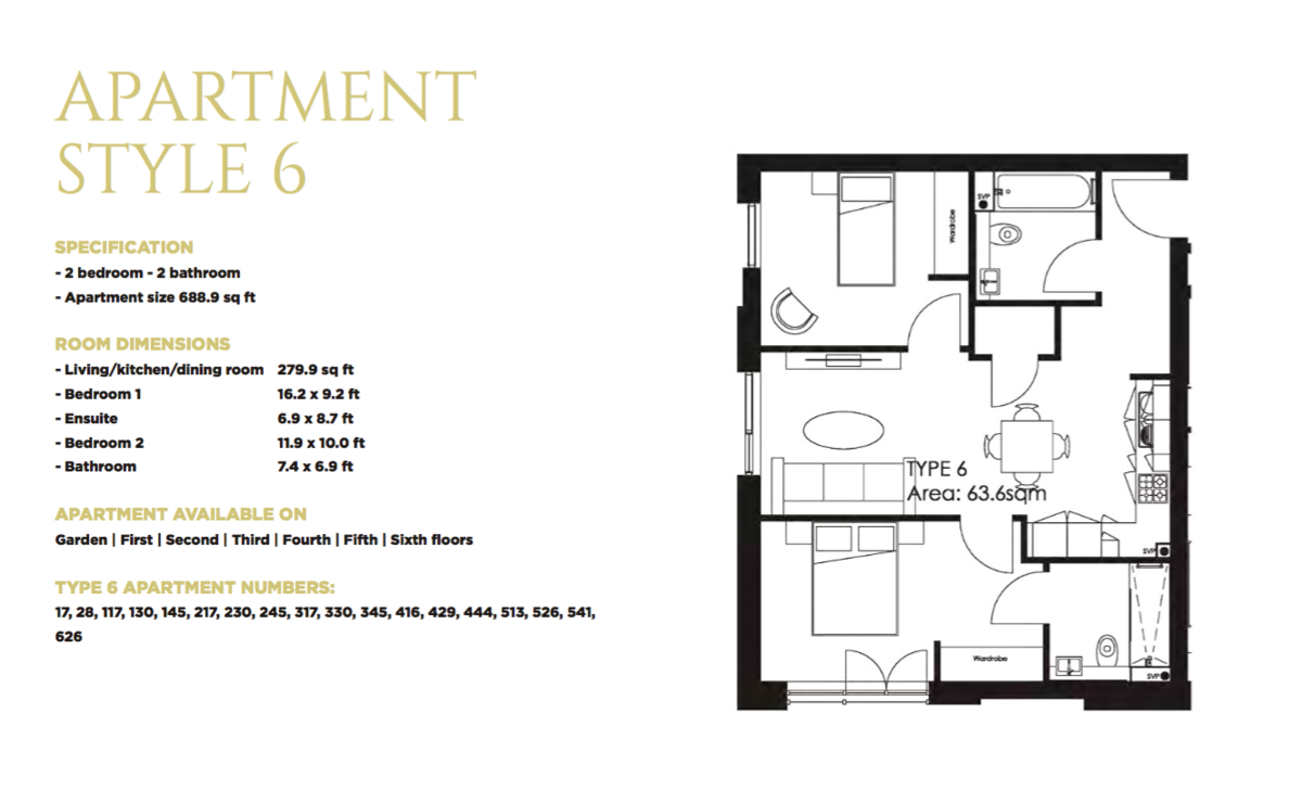 The Axium 40 Windmill Street floorplan 1 of 1
